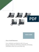 Cisco SPA50X User Guide