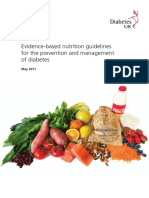 Deakin, T., Et Al. Evidence-based Nutrition Guidelines for the Prevention and Management of Diabetes