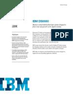 IBM DS8880 Hybrid Datasheet