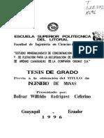 pruebas de flotacion de arenas Orenas.pdf