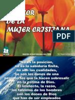 El Valor de la Mujer Cristiana - Autoestima Femenina.pptx