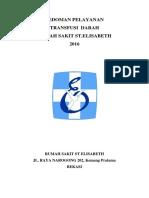Cover Pedoman Pelayanan Transfusi Darah