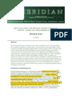 Artikle 6 Project-based