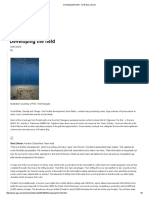 Developing the Field - Oil & Gas Journal