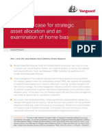 The global case for strategic asset allocation and an examination of home bias - Thierry Polla