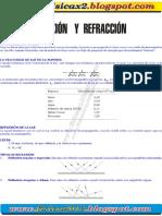 Capitulo 20 Reflexion y Refraccion -Teoria y Ejercicios Con Respuestas