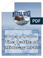Naval War OOB Battle of Midway 1942