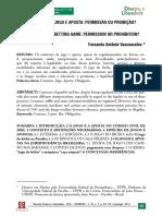 Fernando Antônio Vasconcelos - Contratos de Jogo e Aposta - Permissão Ou Proibição