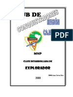 Club de Conquistadores - Clase Explorador