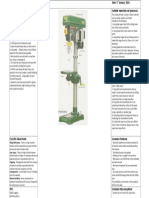 Pillar Drill Risk Assessment