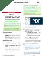 8.1.1 Biochem-Biosynthesis of Nutritionally NE AA