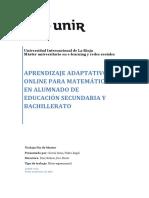 04 Aprendizaje Adaptativo on Line