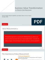 Oracle Cloud Business Value Transformation