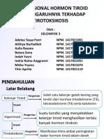 Kelompok 3 - Hormon Tiroid