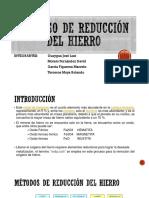 Proceso de Reducción Del Hierro-1