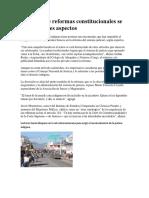 Polémica de reformas constitucionales se centra en tres aspectos, Guatemala