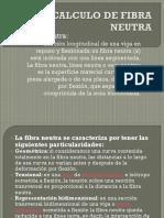 Calculo de Fibra Neutra