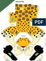 Yaguarete Para Armar Vida Silvestre y Guardabosques