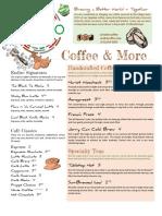 Endiro Coffee USA Full Menu
