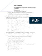 Objetivos Sanitarios Década 2011 2020