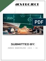 Physics Class 12 Project (Logic Gates)