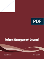 IIM Indore Management Journal
