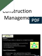construction management basics