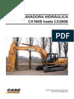 Excavadora Hidráulica CX160B Hasta CX290B