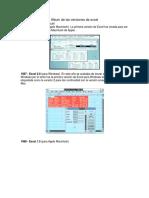 Álbum de Las Versiones de Excel