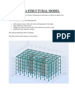 Creating a Structural Model