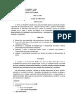 Plano de Curso 2011 - Redação 2ano