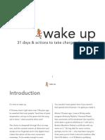 Wake Up 31 Days