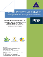 Project Outline Bhalwal Industrial Estate