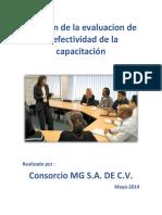 Revisión de La Evaluacion de La Efectividad de La Capacitación