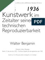 Resumen Benjamin Reproductibilidad