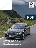 Ficha técnica All New BMW 740e PHEV