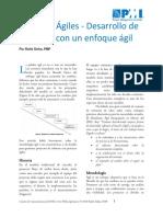 Enfoques Agiles PMI