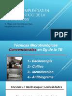 Técnicas de Diagnostico Microbiologia