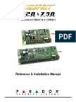 Paradox Esprit 728 738 Ultra 4.4 Reference and Intallation Manual English[1]