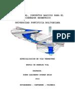 Cartilla Drenaje Vial Conceptos Básicos en Geometría Vial