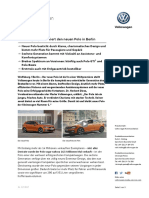 16.06.17_PM Volkswagen Präsentiert Den Neuen Polo