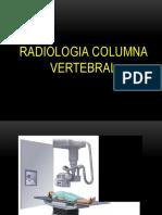 Radiología Columna Vertebral