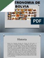 Grastronomia de Bolvia