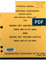 TM 11-5841-286-20P_Radio_Set_AN_ARC-164_1984