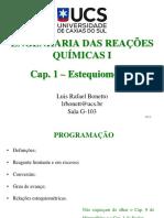 Cap. 1 - Estequiometria (1)