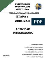 QUIMICA INTEGRADORA 4