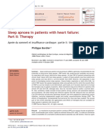 Sleep Apnoea in Patients With Heart Failure- Part II- Therapy