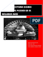 La Arquitectura Como Simbolo de Poder en El Regimen Nazi.