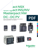 Compact Nsx, Compact Ins Inv and Masterpact Nw - Dc- Dc Pv Catalogue