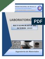 Informe sobre Metalografía de Aceros 1045